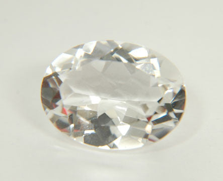 3.92 Ct. Natural Crystal Loose Gemstone 12x10 MM Oval