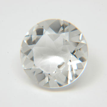 6.68 Ct. Natural Crystal Loose Gemstone 13x13 MM Round