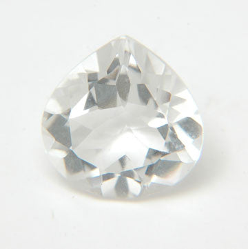 5.26 Ct. Natural Crystal Loose Gemstone 12x12 MM Heart