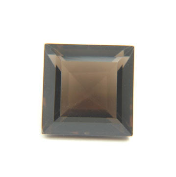 5.40 Ct. Natural Smoky Topaz Loose Gemstone 11x11 MM Square