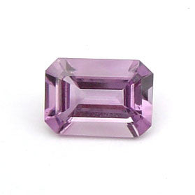 0.60 Ct. Natural Amethyst Loose Gemstone 6x4 MM Octagon