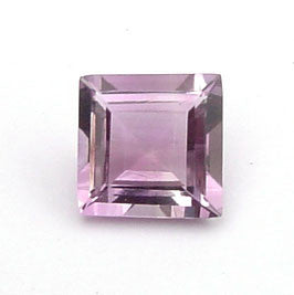 0.33 Ct. Natural Amethyst Loose Gemstone 4x4 MM Square