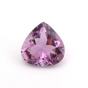 0.64 Ct. Natural Amethyst Loose Gemstone 6x6 MM Heart
