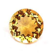 0.86 Ct. Natural Citrine Loose Gemstone 6x6 MM Round
