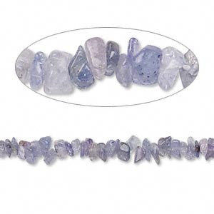 Bead Tanzanite (Heated) Chip 16-Inch Strand