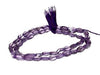 10mm Faceted Oval Cut Amethyst Beads Strand 15""