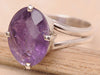 Amethyst .925 Sterling Silver Jewelry Ring Size 7