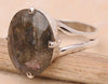 Labradorite .925 Sterling Silver Jewelry Ring Size 7