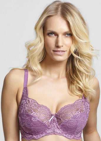 Model in Panache Andorra Full Cup BH Violet
