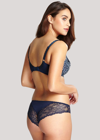 Jasmine Animal Navy Brazillian Broekje