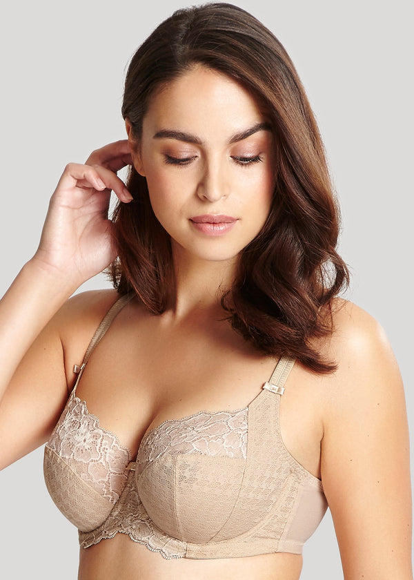 Model in Panache Envy Full Cup BH Medium Nude