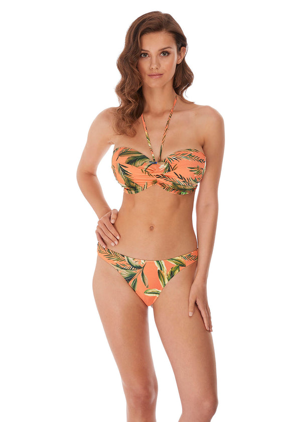 Model in Freya Birds In Paradise Bikini voorzijde