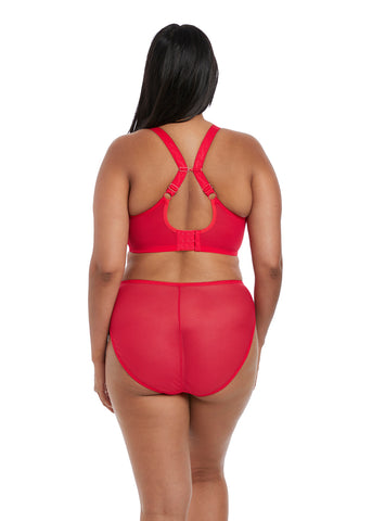 Charley High Leg Brief Rood