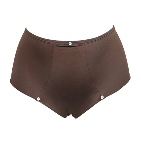 High Waist Broekje Chestnut