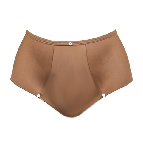 High Waist Broekje Bronze