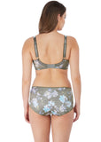 Model in Fantasie Emmie Evergreen set achterkant