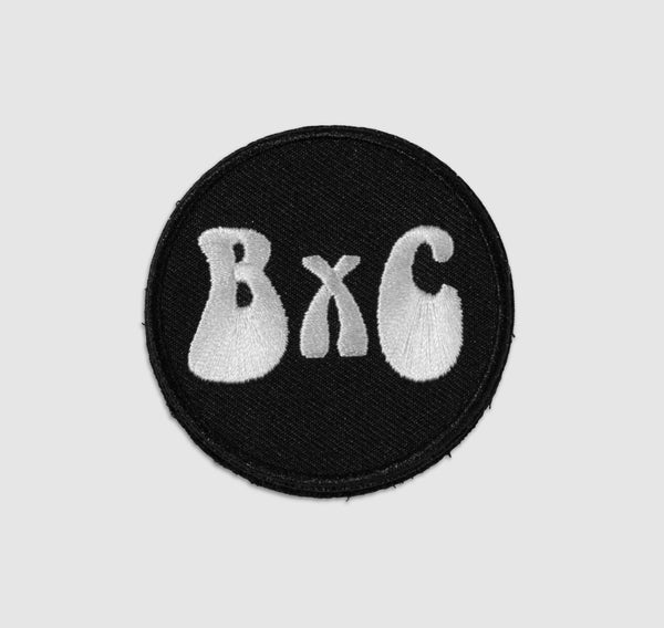 -B&C Hippy Velcro Hat Patch-