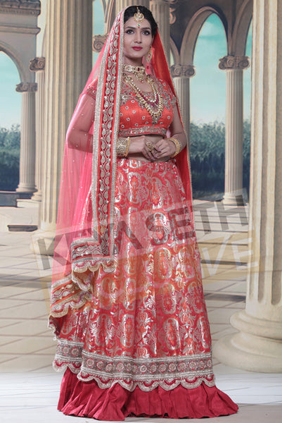 benarasi lehenga for bride, benarasi lehenga for wedding