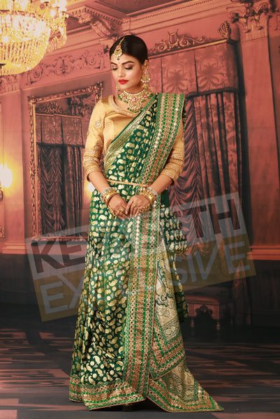 Designer Benarasi for wedding, Designer Benarasi for bride