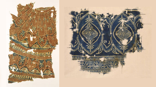 ancient cloth pieces