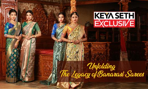 Unfolding the Legacy of Banarasi Sarees