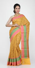 Load image into Gallery viewer, SELF CHANDERI SILK SAREE WITH MONOPOLY DESIGN