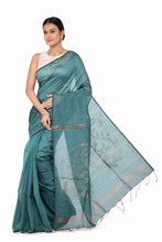 Load image into Gallery viewer, Linen Handloom Saree - Keya Seth Exclusive
