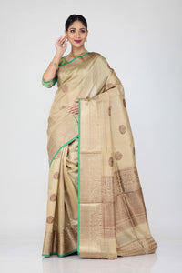 Tussor Silk Saree - Keya Seth Exclusive