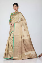 Load image into Gallery viewer, Tussor Silk Saree - Keya Seth Exclusive