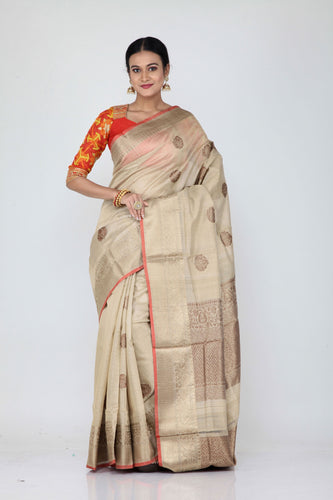 Tussar Silk Saree - Keya Seth Exclusive