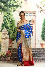Load image into Gallery viewer, BANARASI SILK SAREE - Keya Seth Exclusive