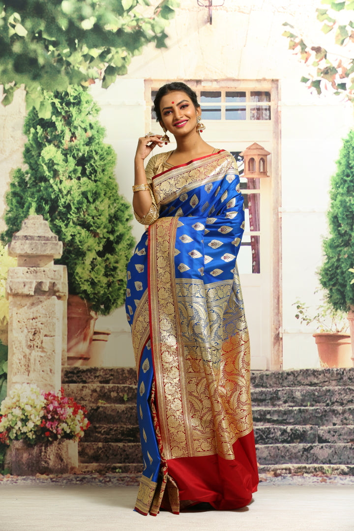 BANARASI SILK SAREE - Keya Seth Exclusive