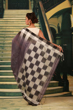 Load image into Gallery viewer, MULTICOLORED DYED COTTON HANDLOOM SAREE