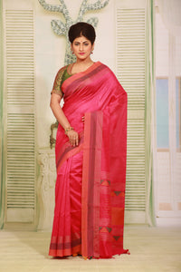 RANI COLOUR MUGA HANDLOOM SAREE