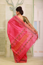Load image into Gallery viewer, RANI COLOUR MUGA HANDLOOM SAREE