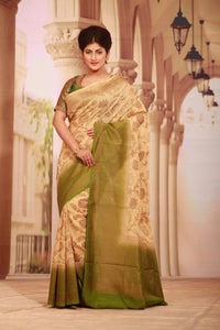 GHICHA SILK SAREE - Keya Seth Exclusive