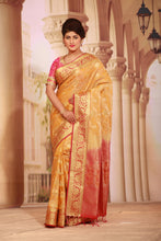 Load image into Gallery viewer, YELLOW COLOUR ARNI SILK SAREE