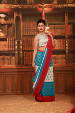 Load image into Gallery viewer, SAMBALPURI COTTON IKKAT SAREE - Keya Seth Exclusive
