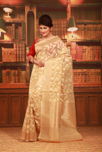 Load image into Gallery viewer, JUTE SILK SAREE - Keya Seth Exclusive