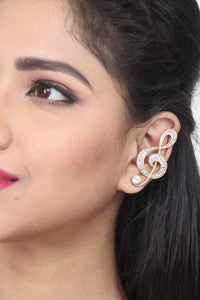 GOLDEN COLOUR EAR-CUFF