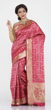 Load image into Gallery viewer, RANI COLOUR BANDHANI PRINT SILK SAREE