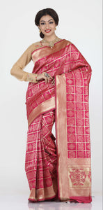 RANI COLOUR BANDHANI PRINT SILK SAREE