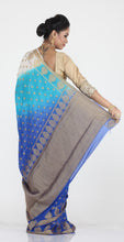 Load image into Gallery viewer, HALF-N-HALF KHADDI CHIFFON SAREE