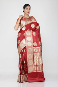 Katan Benerasi Saree - Keya Seth Exclusive