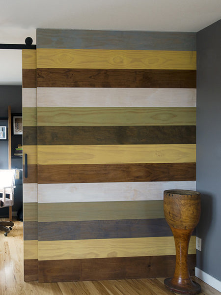 Sliding Barn Door Ingredients