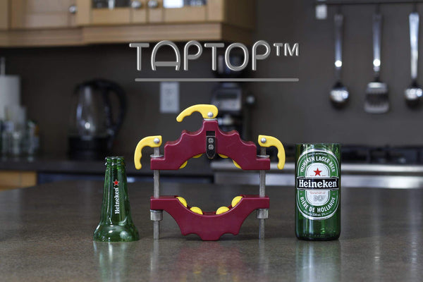 TapTop™ Bottle Cutter - Save glass with this recycling tool