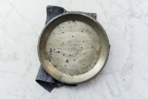mrs. robinson's tin pie dish