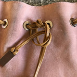 Authentic Gucci Suede Pink Purse
