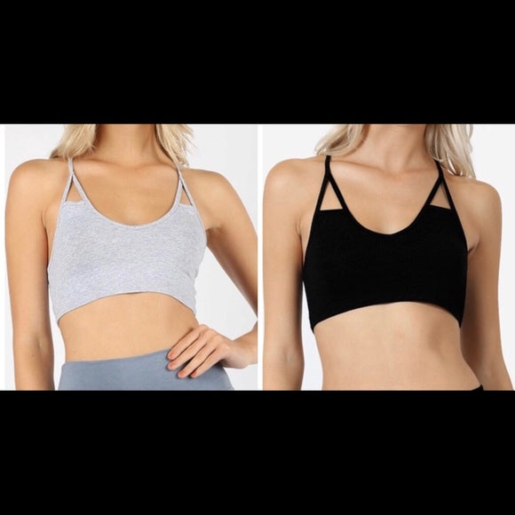 NEW Lot of 2 Bralettes Small