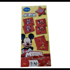 NIB Disney Mickey Mouse Match Game